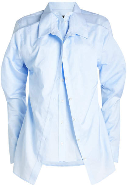 Y/Project Double Layered Cotton-Linen Shirt
