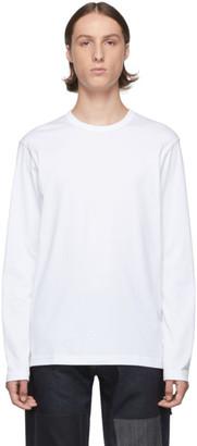 Junya Watanabe White Jersey Long Sleeve T-Shirt