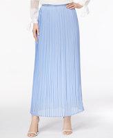 Cable & Gauge Cupio Pleated Maxi Skirt