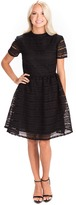 Rachel Parcell Black Embroidery Anglaise Dress