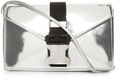 Christopher Kane Devine large leather cross-body bag