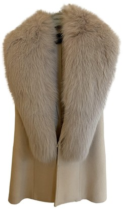 Flavio Castellani Beige Fox Jacket for Women
