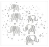 Elephants - A Ton of Love Wall Art Kit