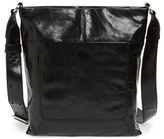 Hobo 'Reghan' Leather Shoulder Bag - Black