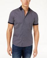Michael Kors Men's Slim-Fit Clayton Print Short-Sleeve Cotton Shirt