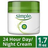 Simple Cream, Nourishing 24 Hour Day & Night