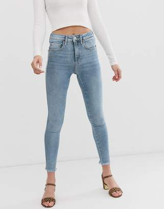 Free People raw high rise jegging-Blue