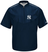 Majestic Men's Short-Sleeve New York Yankees Authentic Collection Training Jacket