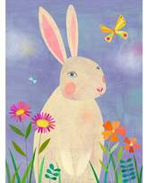 Oopsy Daisy Fine Art For Kids Forest Adventure - Rabbit by Melanie Mikecz Paper Print