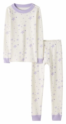 Moon and Back by Hanna Andersson Moon and Back Big Kids 2 Piece Long Sleeve Pajama Set