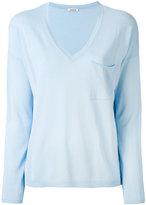 P.A.R.O.S.H. V-neck sweater - women - Cotton/Viscose - L
