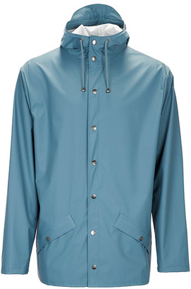 Rains Jacket Pacific - XXS/XS   blue grey   polyester - Blue grey