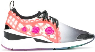 Puma X Sophia Webster Embellished Lace-Up Sneakers