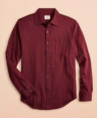 Brooks Brothers Lightweight Cotton Jersey Shirt