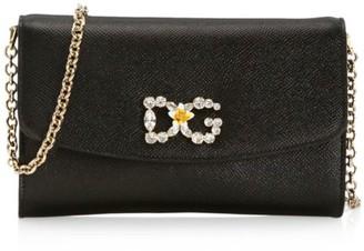 Dolce & Gabbana Mini Christmas Leather Crossbody
