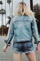 Forever 21 FOREVER 21+ California Graphic Denim Jacket