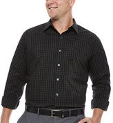 Van Heusen Long-Sleeve Stretch Non-Iron Travel Shirt - Big & Tall