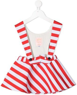 Wauw Capow By Bangbang Candy Girl pinafore dress