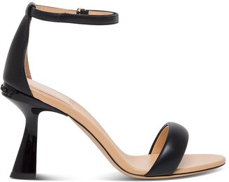 Givenchy Carene Sandals In Black Leather