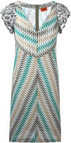 Missoni V-neck knitted dress - women - Nylon/Viscose - 42