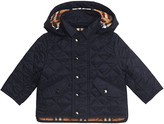 Burberry Ilana Quilted Hooded Jacket, Size 12M-3