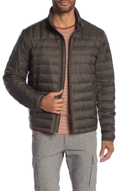 b4b635fc Tommy Hilfiger Green Men's Jackets - ShopStyle