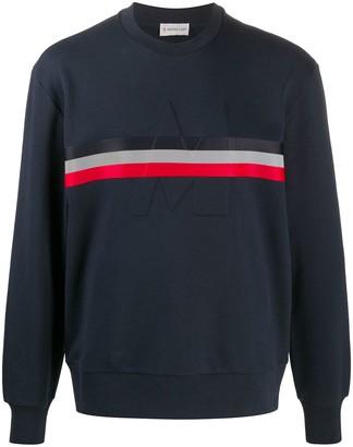 Moncler Cotton Debossed Logo Sweatshirt