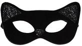 John Lewis Children's Halloween Cat Mask, Black