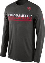 Nike Men's Tampa Bay Buccaneers Team Practice Long Sleeve T-Shirt