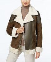 MICHAEL Michael Kors Faux-Shearling Coat
