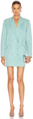 Mason by Michelle Mason Oversized Blazer Dress in Cerulean   FWRD