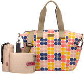 Babymel Evie Fruity Floral Dot Diaper Bag