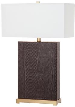 Safavieh Joyce Faux Snakeskin Table Lamps (Set of 2)