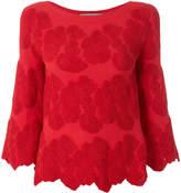 D-Exterior D.Exterior floral embroidered blouse