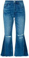 3x1 W4 Higher Ground Gusset Crop jeans - women - Cotton - 25