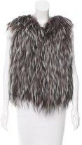 Fendi Open Front Fur Vest