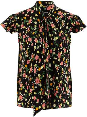 Marc Jacobs The Bow short sleeve silk shirt