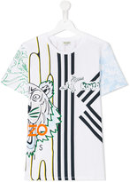 Kenzo printed T-shirt - kids - Cotton - 16 yrs