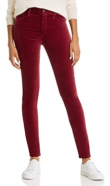 AG Jeans Farrah Skinny Velvet Jeans - 100% Exclusive