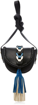 RED Valentino Crossbody with Blue Tassel
