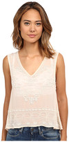 Free People Pennies Georgette Run with It Embellished Top