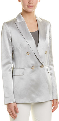 Reiss Solene Linen-Blend Jacket