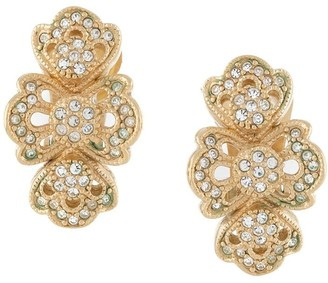 Christian Dior 1980s Pre-Owned Strass Earrings