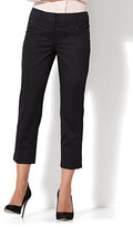 New York & Co. 7th Avenue Pant - Crop Straight Leg - Signature