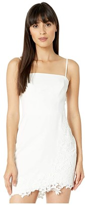 BCBGMAXAZRIA Bustier Cocktail Dress (Off-White) Women's Dress