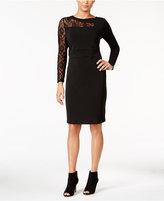 Thalia Sodi Lace-Detail Sheath Dress, Only at Macy's