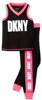 DKNY Girls Athletic Sleep Set (Big Girls)