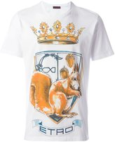 Etro crown print T-shirt