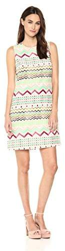 M Missoni Women's Zig Zag Silk Dress