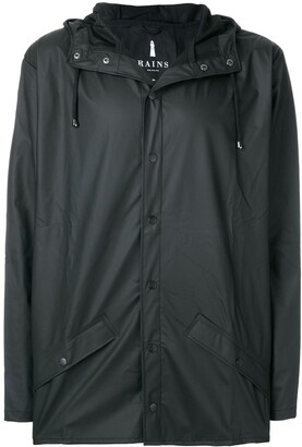 Rains Snap Fastening Raincoat